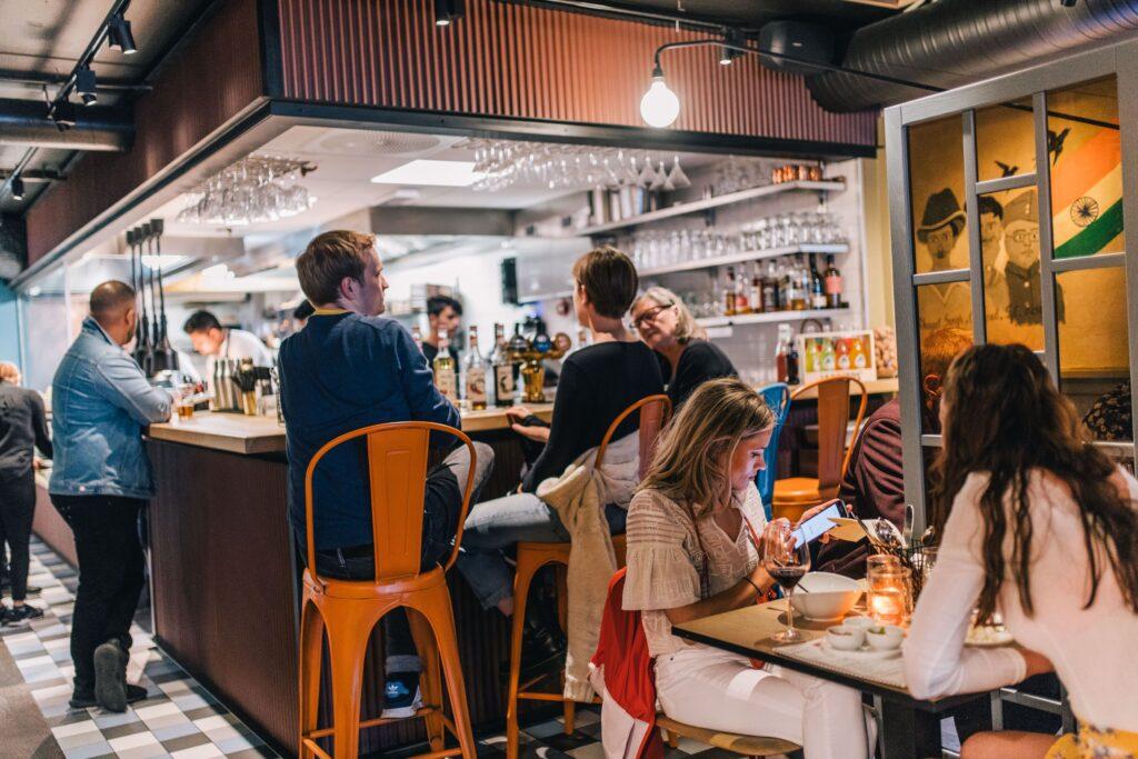 Oslo Listen to Baljit restaurant